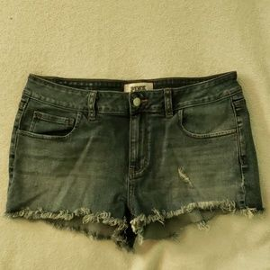Pink Victoria's Secret Jean Denim Shorts